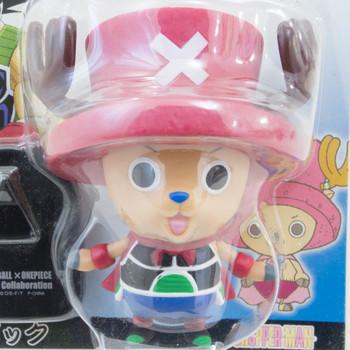 Dragon Ball Z x ONE PIECE Chopper Man x Bardock Sofubi Figure JAPAN ANIME