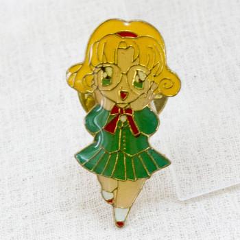 Magic Knight Rayearth Metal Pins Badge Fuu Hououji JAPAN ANIME MANGA