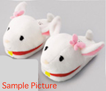 Heidi Girl of the Alps Yuki-chan Goat Face Plush Doll Slippers JAPAN ANIME