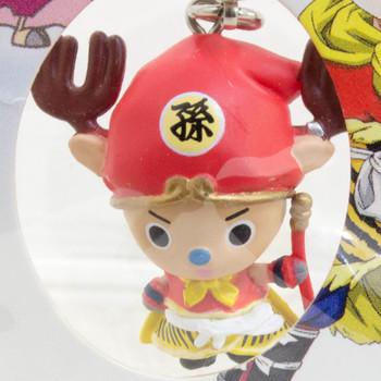 Dragon Ball Z x ONE PIECE Chopper Man x Son Gohan Figure Strap JAPAN ANIME 2