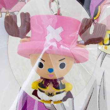 Dragon Ball Z x ONE PIECE Chopper Man x Majin Boo Figure Strap JAPAN ANIME 2