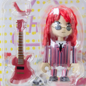 hide with Guitar X-Japan Play Doll Mini Figure Banpresto J-Rock Visual Kei