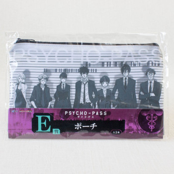 Psycho-Pass Ichigakari Member Ver. Pouch Mini Bag Taito Kuji JAPAN ANIME