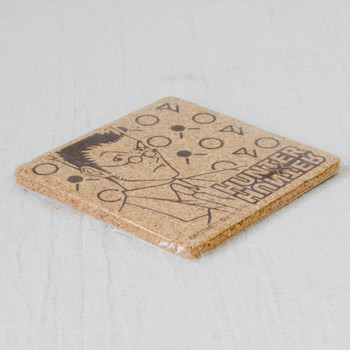 RARE! HUNTER x HUNTER Leorio Cork Coaster JAPAN ANIME MANGA SHONEN JUMP