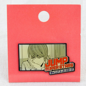 Shonen Jump Super Stars Pins Death Note Light Yagami JAPAN ANIME MANGA