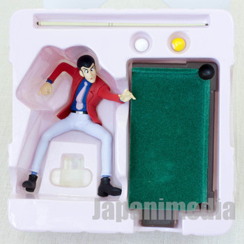 Lupin the Third (3rd) LUPIN Opening Scene Billiards Figure JAPAN ANIME
