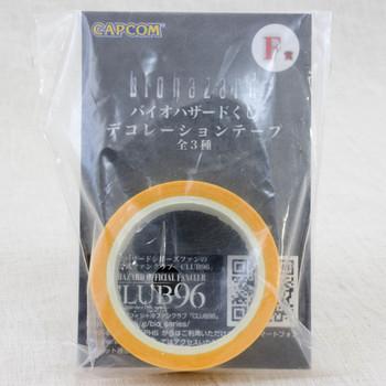 Biohazard Decoration Tape Yellow Capcom JAPAN GAME RESIDENT EVIL