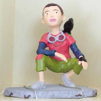 TEKKON KINKREET KURO Sitting Figure Matsumoto Taiyo Jun Planning JAPAN ANIME