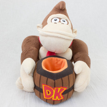 Donkey Kong Plush Doll Pen Stand JAPAN GAME Nintendo Famicom NES