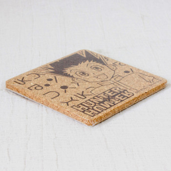 RARE! HUNTER x HUNTER Gon Freecss Cork Coaster JAPAN ANIME MANGA SHONEN JUMP