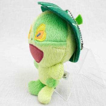 Blue Exorcist Ni chan Greenman Plush Doll Ballchain JAPAN ANIME MANGA
