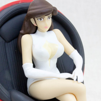 Lupin the Third (3rd) Fujiko Mine Figure On The Chair Banpresto JAPAN ANIME