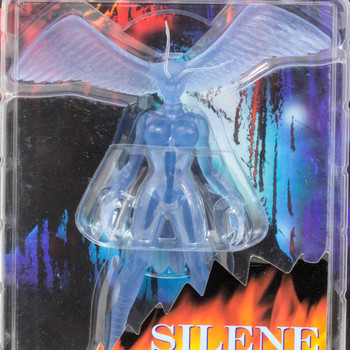 Devilman SILENE Limited Clear Blue Dynamic Action Figure Marmit JAPAN ANIME