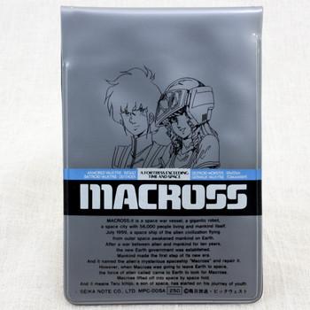 Retro Macross Hikaru Ichijo Lynn Minmay Card Case Holder JAPAN ANIME
