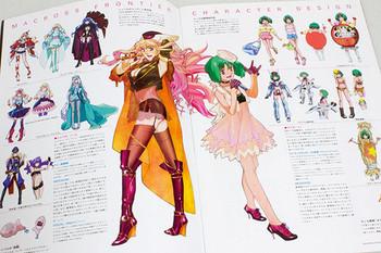 Macross Frontier Itsuwari no Utahime Movie Program Art Book JAPAN ANIME Sheryl