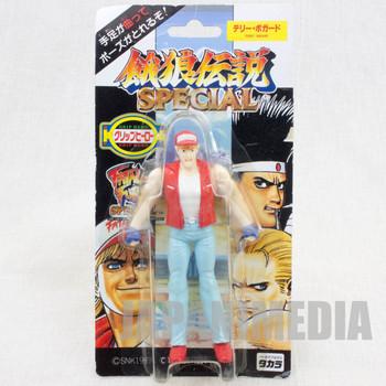 RARE! Fatal Fury Special Terry Bogard Mini Action Figure Grip Hero SNK JAPAN
