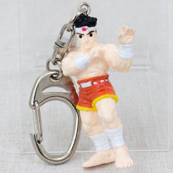 Retro RARE! Fatal Fury Special Joe Higashi Figure Key Chain SNK 1993 JAPAN GAME