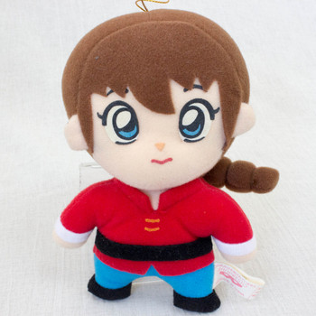 "Ranma 1/2 Saotome Ranma Female 6"" Plush Doll Banpresto JAPAN ANIME MANGA FIGURE"
