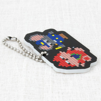 Namco Characters Plate Ball Chain Mappy Famicom JAPAN