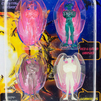 Devilman Clear Color Mini Figure 4pc Set Unifive JAPAN MANGA MANGA GO NAGAI