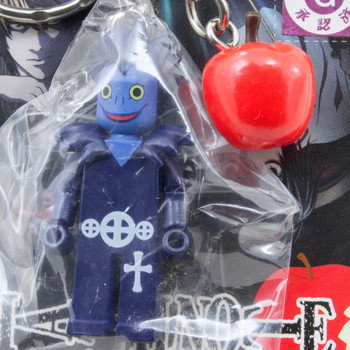 RARE! Death Note Ryuk Reaper w/Apple Mascot Figure Key Chain JAPAN ANIME MANGA