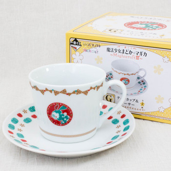 Puella Magi Madoka Magica Sweet Witch Transform Charlotte Tea cup & Saucer JAPAN