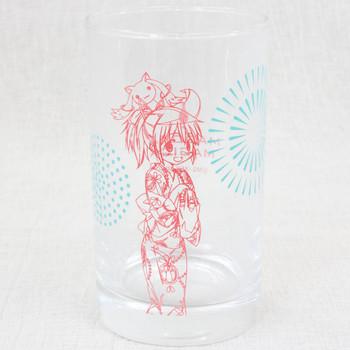Puella Magi Magica Madoka Kimono Madoka Kaname Glass JAPAN ANIME