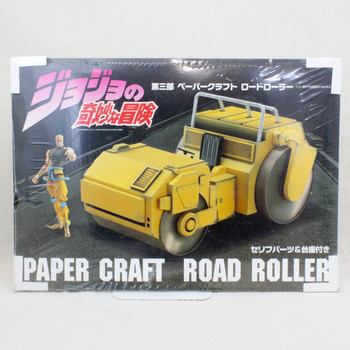JoJo's Bizarre Adventure Papaer Craft Dio's Road Roller Medicos JAPAN ANIME