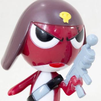Keroro Gunso GIRORO Swing Bubble Head Figure JAPAN ANIME MANGA