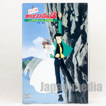 RARE Lupin the Third (3rd) Castle of Cagliostro LUPIN & CLARISE Cliff Plastic Model Kit
