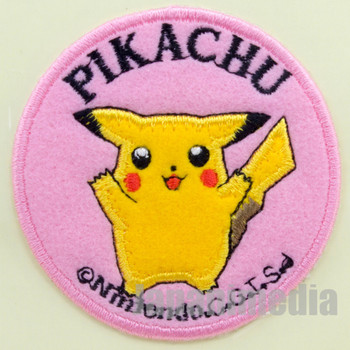 Pokemon Pikachu Interfacing Patch Badge Pocket Monsters JAPAN ANIME GAME 2