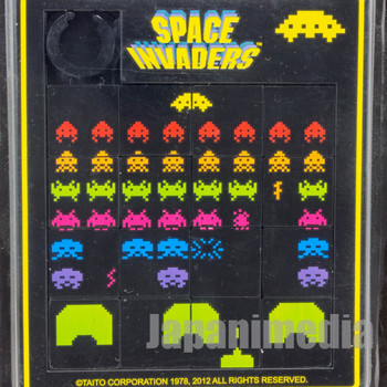 Space Invaders Sliding Puzzle Taito Licensed JAPAN