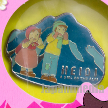 Heidi Girl of the Alps Cute Pins Kabaya JAPAN ANIME 2