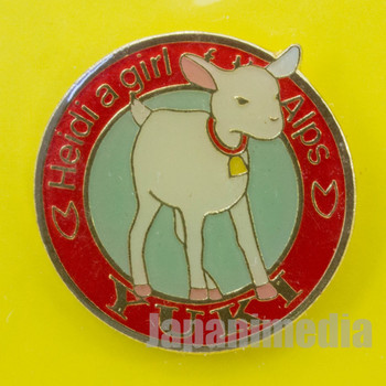 Heidi Girl of the Alps Cute Pins Kabaya JAPAN ANIME 4