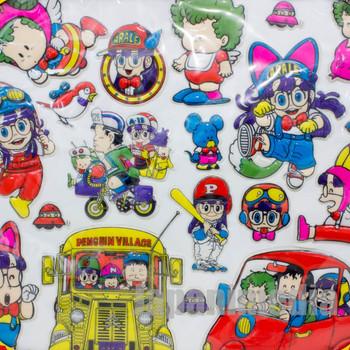 Retro Dr. Slump Arale chan Big Decoration Sticker Sheet JAPAN ANIME MANGA