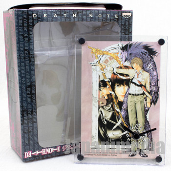 Death Note Picture Desktop Clock Yagami Light Banpresto JAPAN GAME