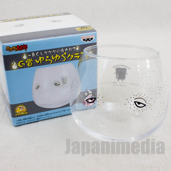 Gegege no Kitaro Yokai Nurikabe Yura-Yura Swing Glass JAPAN ANIME