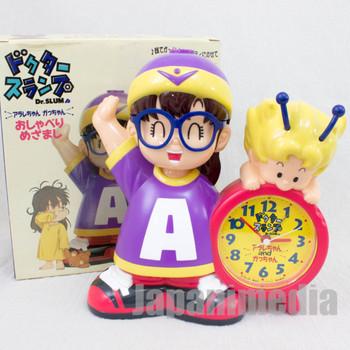 Dr. Slump Arale Chan & Gatchan Figure Talking Alarm Clock JAPAN ANIME