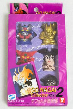 GO NAGAI COLLECTION PART.2 FIGURE MAZINGER Z DEVILMAN JAPAN ANIME