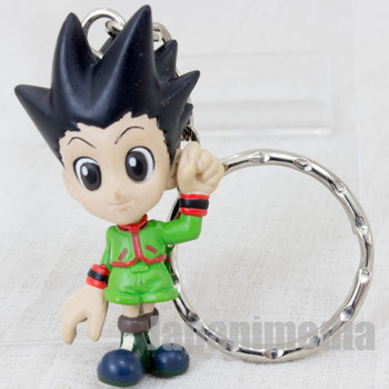 HUNTER x HUNTER Gon Freecss Mini Figure Key Holder Chain Banpresto JAPAN ANIME 2