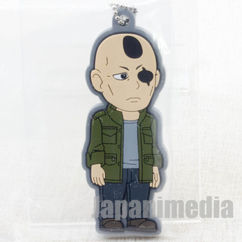 Ghost in the Shell ARISE Saito Rubber Mascot Ballchain JAPAN ANIME