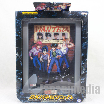 Yu Yu Hakusho Big DX Panel Clock Banpresto YUSUKE KURAMA HIEI JAPAN ANIME MANGA 1