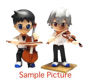 RARE Evangelion Petit Eva Kaworu Nagisa Shinji Ikari Figure Music Concert Ver.