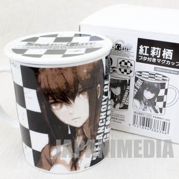 Steins ; Gate Mug with Lid Kurisu Makise Cospa JAPAN ANIME