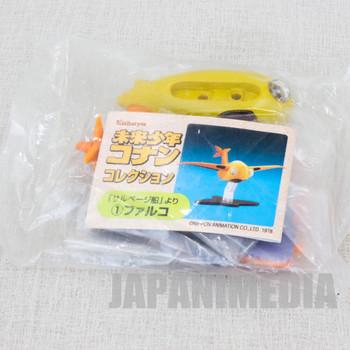 Future Boy Conan Mini Figure Flaying Boat Falco JAPAN ANIME HAYAO MIYAZAKI