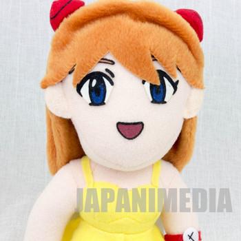 Evangelion Asuka Langley Dress ver. Plush Doll Figure SEGA 1997 JAPAN ANIME