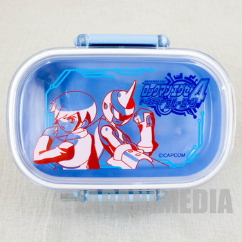 Rockman Exe 4 Tournament Blue Moon Lunch Box JAPAN GAME CAPCOM MEGAMAN