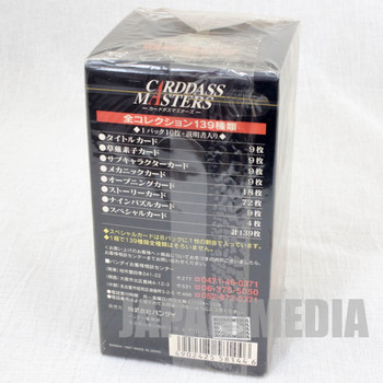 Ghost in the Shell Carddass Masters Box Set 150 Cards BANDAI  JAPAN ANIME