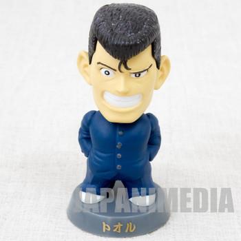 Be-Bop High School Tooru Nakama Bobble Head Figure Toyfull JAPAN MANGA BE BOP