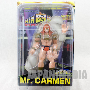 KINNIKUMAN Mr. Carmen Romando PVC Action Figure JAPAN ANIME MANGA JUMP